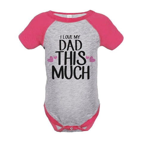 Custom Party Shop Girls' 1st Father's Day Onepiece