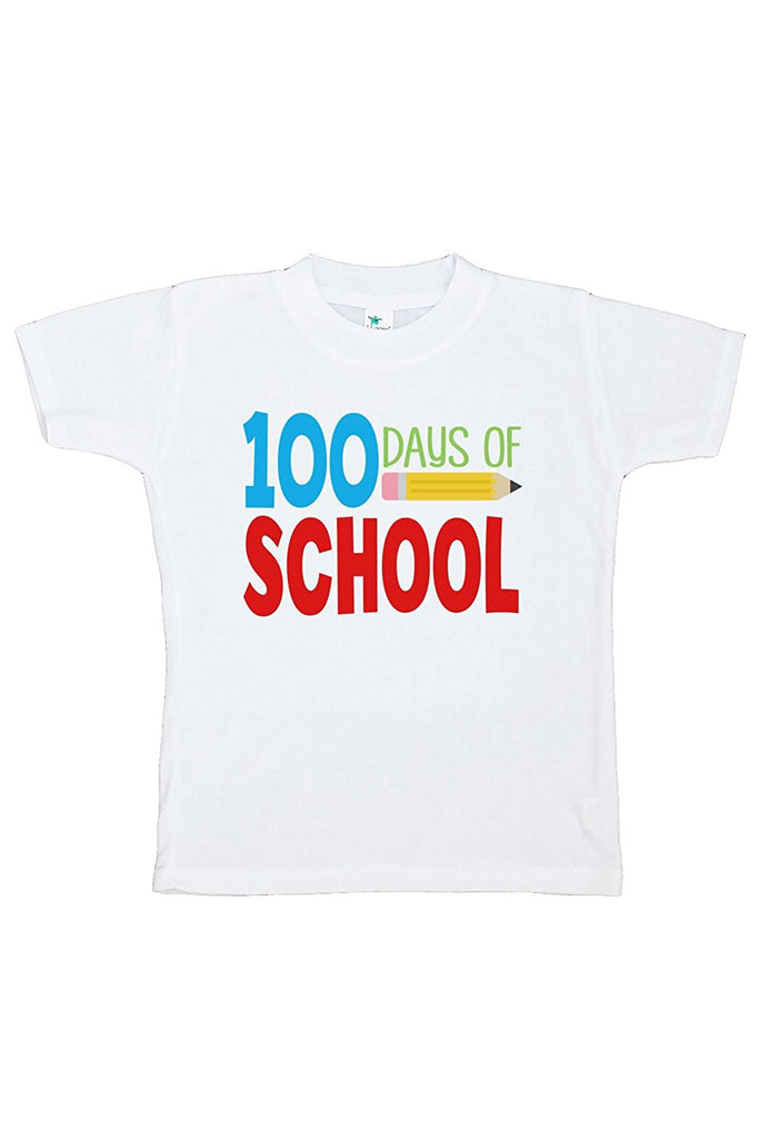 7 ate 9 Apparel Kids 100 Days of School T-shirt