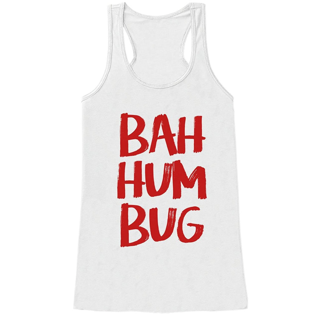 7 ate 9 Apparel Womens Ba Hum Bug Christmas Tank Top