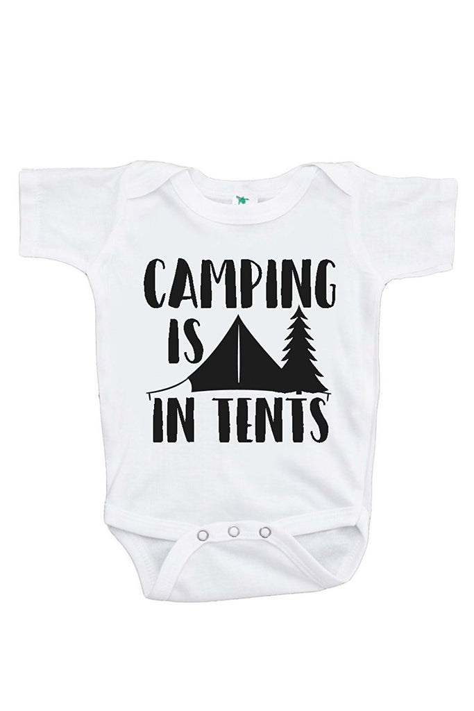 7 ate 9 Apparel Baby's Camping Is In Tents Outdoors Onepiece