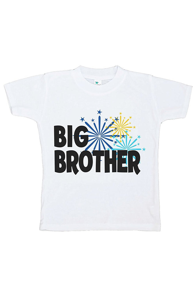 7 ate 9 Apparel Kids Big Brother Happy New Year T-shirt