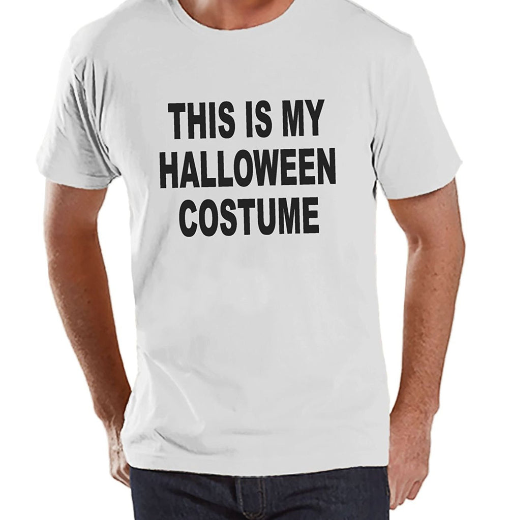 7 ate 9 Apparel Men's This Is My Halloween Costume T-shirt