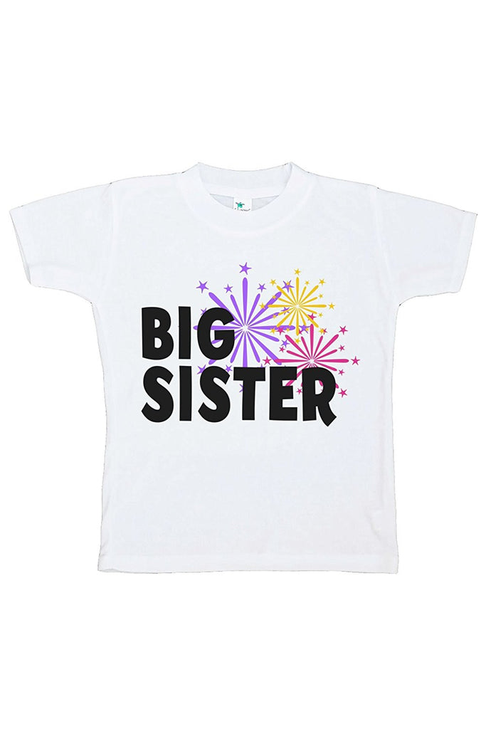 7 ate 9 Apparel Kids Big Sister Happy New Year T-shirt