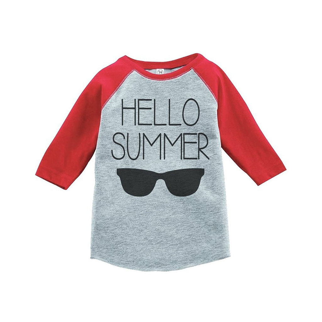 7 ate 9 Apparel Hello Summer Raglan Tee