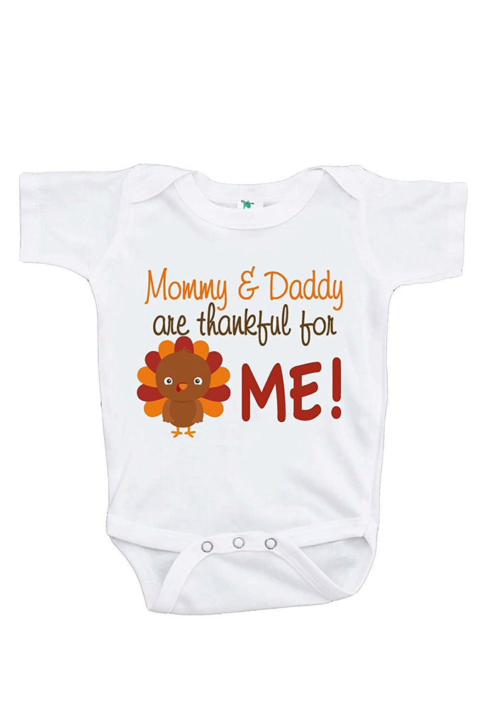 7 ate 9 Apparel Baby Boy s Thankful For Me Thanksgiving Onepiece f3cad0c28