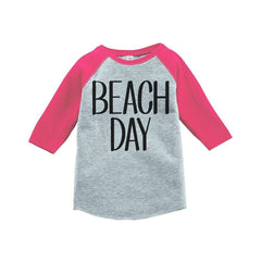 7 ate 9 Apparel Beach Day Summer Raglan Tee