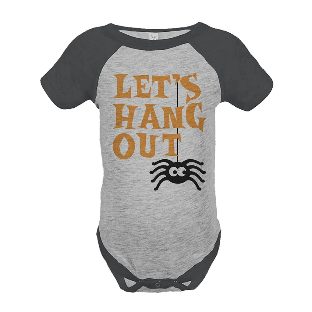 7 ate 9 Apparel Baby's Let's Hanging Out Halloween Onepiece