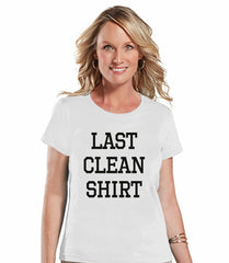 7 ate 9 Apparel Womens Last Clean Shirt T-shirt