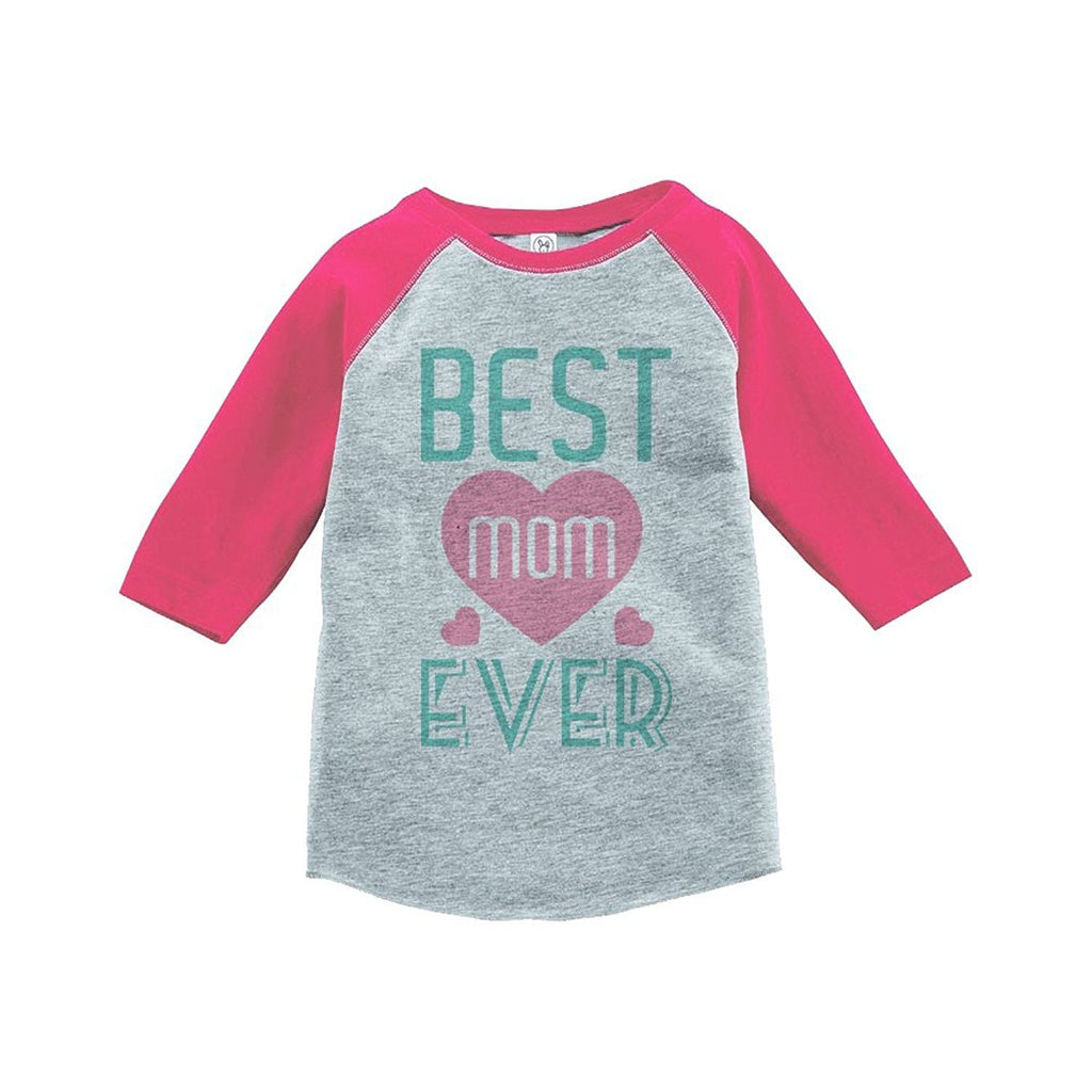 7 ate 9 Apparel Girls' Mother's Day Vintage Baseball Tee