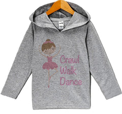 7 ate 9 Apparel Baby Girls' Novelty Ballerina Hoodie Pullover