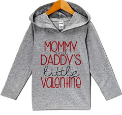 7 ate 9 Apparel Baby's Little Valentine's Day Hoodie