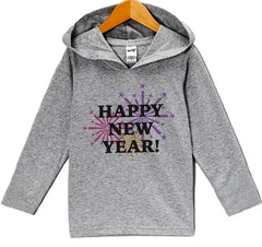 7 ate 9 Apparel Baby Girl's Happy New Years Eve Hoodie Pullover