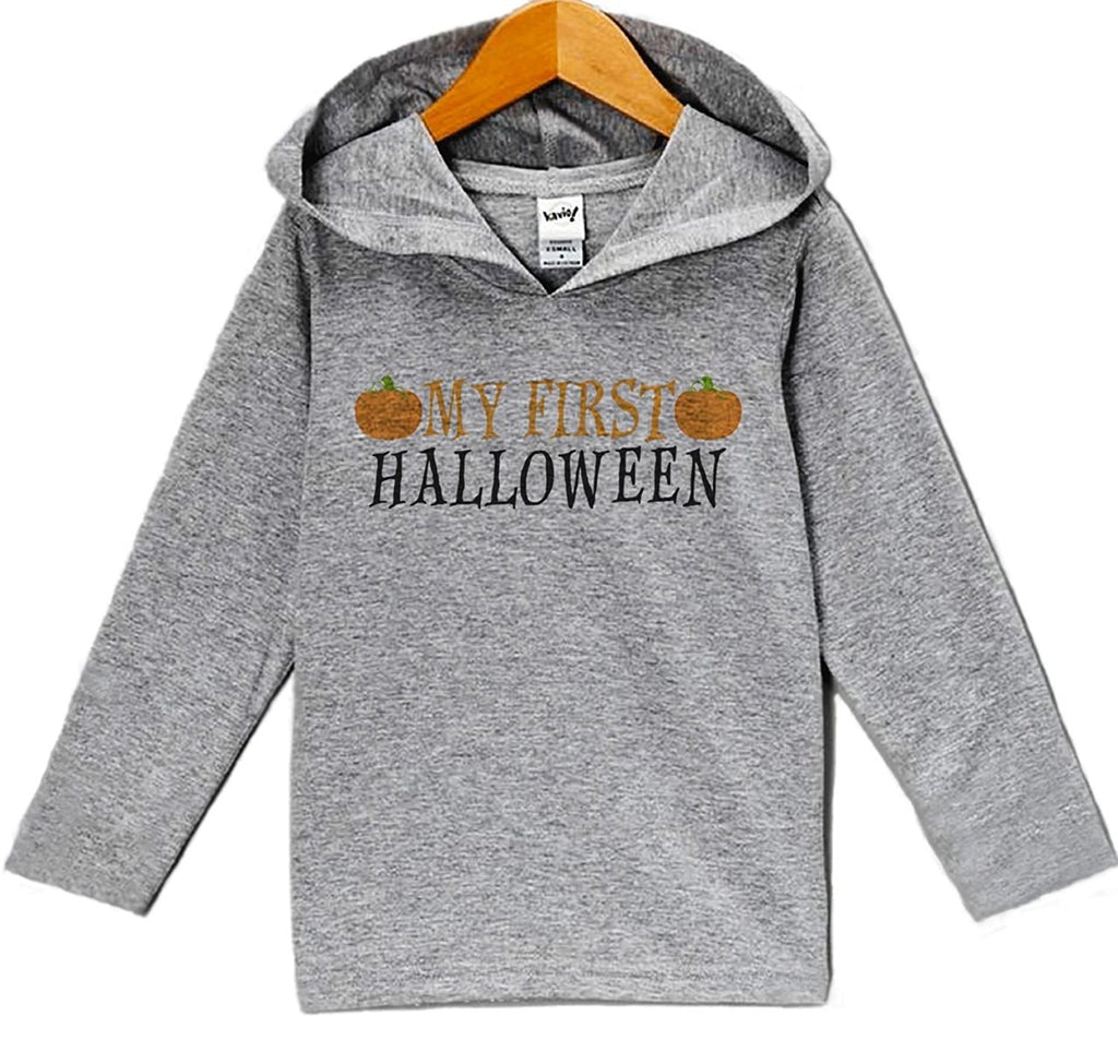 7 ate 9 Apparel Baby First Halloween Hoodie