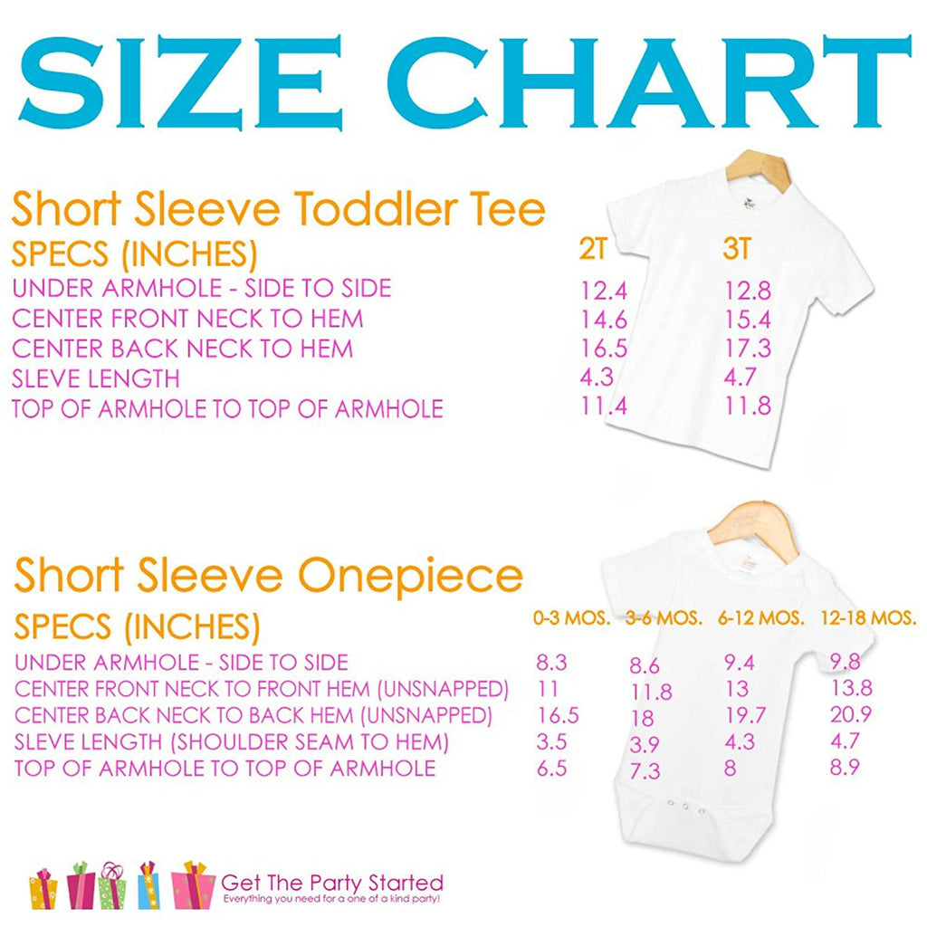 7 ate 9 Apparel Unisex Baby's Novelty First Birthday Onepiece Outfit