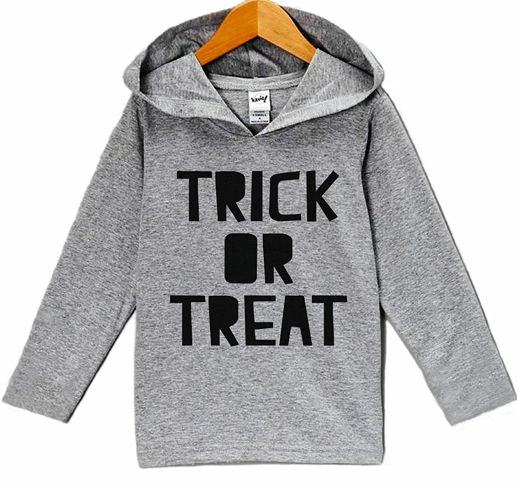 7 ate 9 Apparel Baby's Trick or Treat Halloween Hoodie