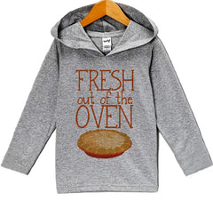 7 ate 9 Apparel Baby's Fresh Out Of The Oven Thanksgiving Hoodie
