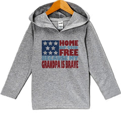 7 ate 9 Apparel Baby Kids 4th of July Hoodie Pullover
