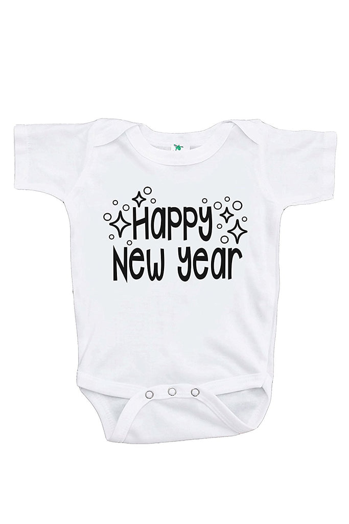 7 ate 9 Apparel Kids Happy New Year's Eve Onepiece