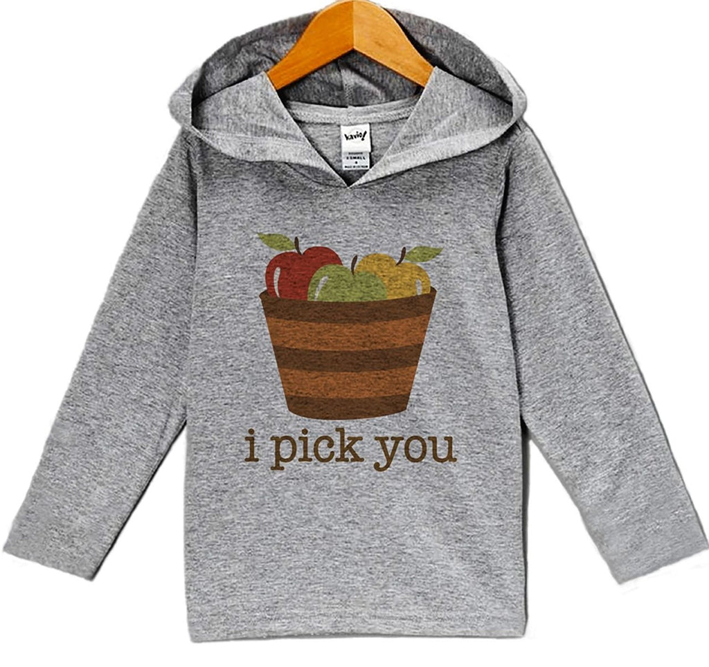 7 ate 9 Apparel Baby's I Pick You Thanksgiving Hoodie