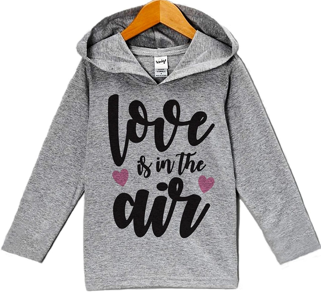 7 ate 9 Apparel Baby's Love Is In The Air Valentine's Day Hoodie