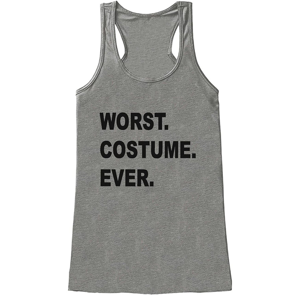 7 ate 9 Apparel Womens Worst Costume Ever Halloween Tank Top