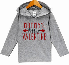 7 ate 9 Apparel Baby Boy's Mommy's Little Valentine Hoodie Pullover