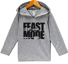 7 ate 9 Apparel Baby's Feast Mode Thanksgiving Hoodie