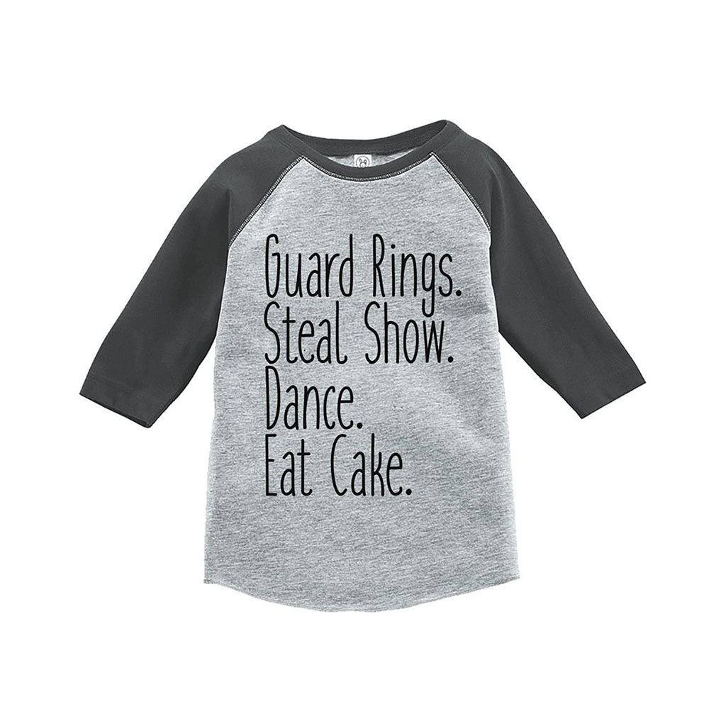7 ate 9 Apparel Toddler Boy's Funny Ring Bearer Wedding Grey Raglan