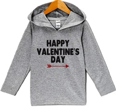7 ate 9 Apparel Baby's Big Brother Valentine's Day Hoodie