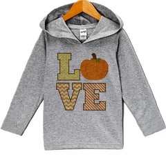 7 ate 9 Apparel Baby's LOVE Thanksgiving Hoodie