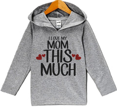 7 ate 9 Apparel Baby Boy's Mother's Day Hoodie Pullover