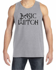 7 ate 9 Apparel Men's Basic Witch Halloween Tank Top