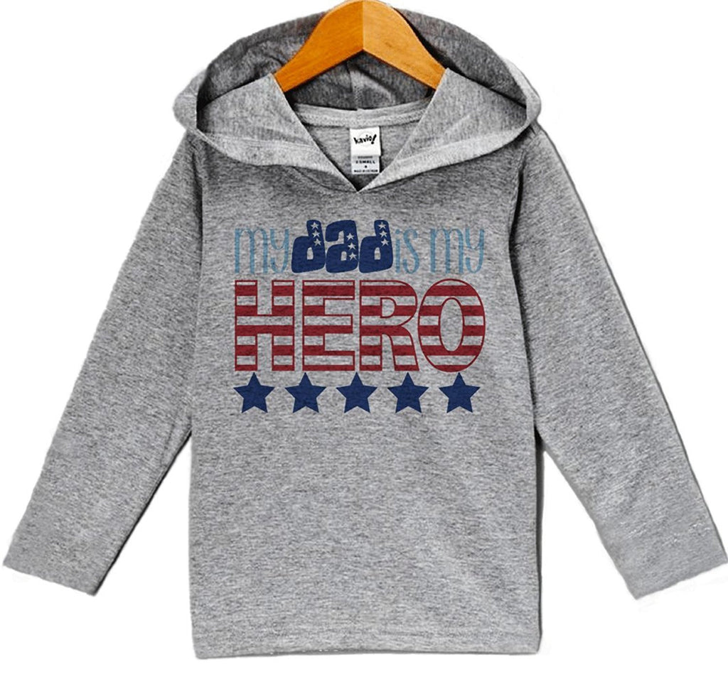 My Dad Is My Hero - Baby Boy's 4th of July Hoodie