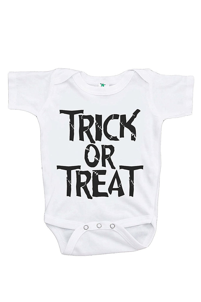 7 ate 9 Apparel Baby's Trick or Treat Halloween Onepiece