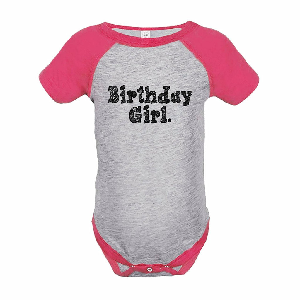 7 ate 9 Apparel Girl's Birthday Girl Onepiece