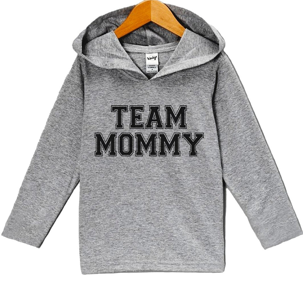 7 ate 9 Apparel Baby Boy's Team Mommy Hoodie Pullover