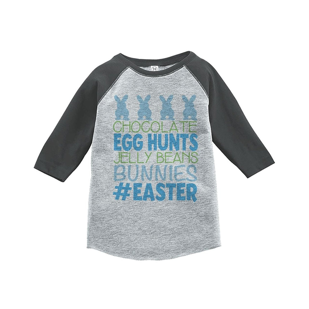 #Easter - Grey Raglan