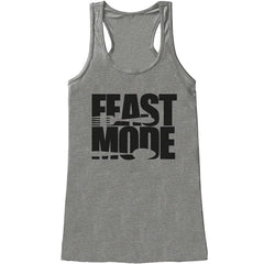 7 ate 9 Apparel Womens Feast Mode Thanksgiving Tank Top