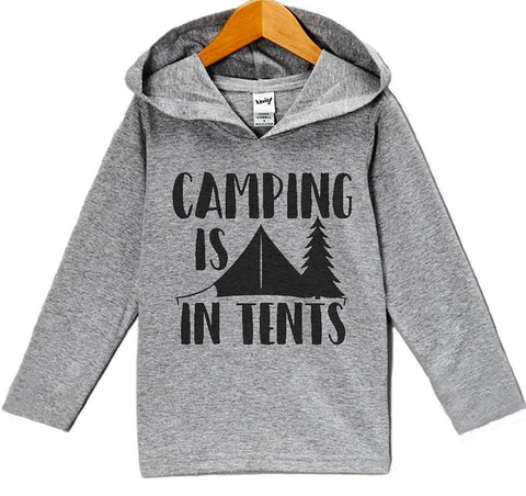 Custom Party Shop Kids Camping Is In Tents Outdoors Onepiece