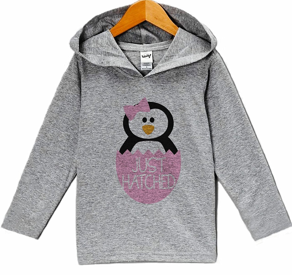 7 ate 9 Apparel Kid's Penguin Winter Hoodie
