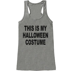 7 ate 9 Apparel Womens This Is My Halloween Costume Tank Top