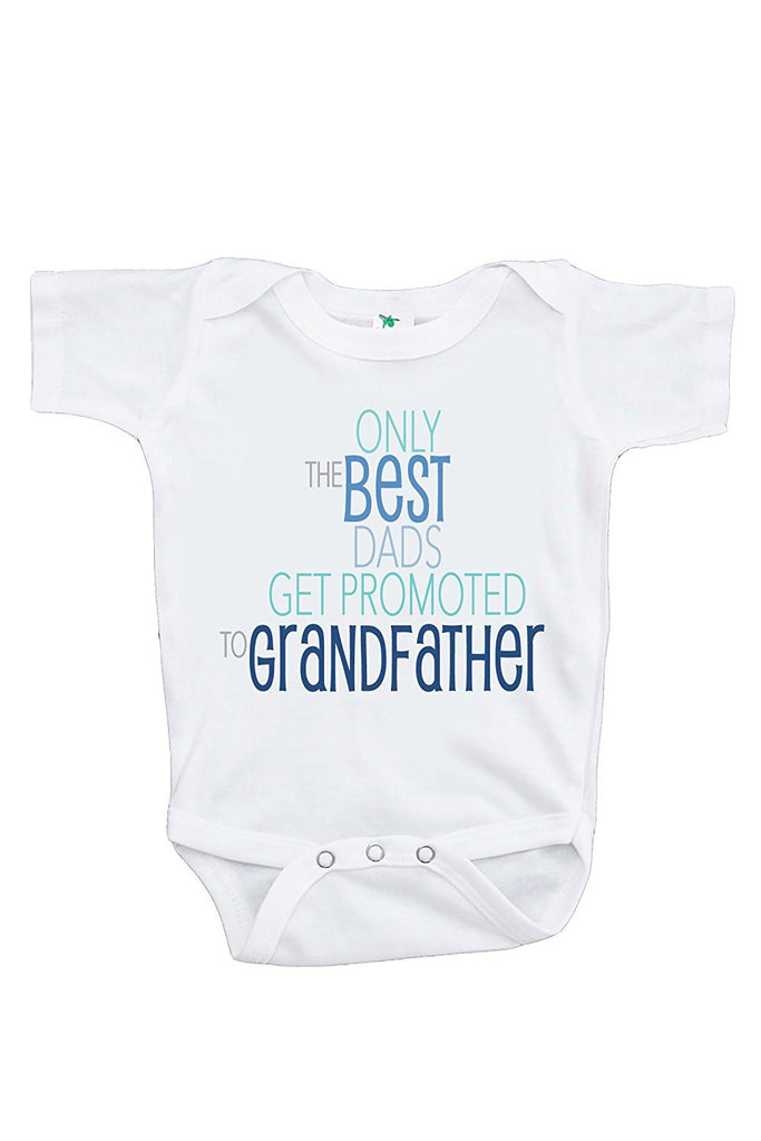 Best Dads Get Promoted to Grandfather Pregnancy Announcement Onepiece