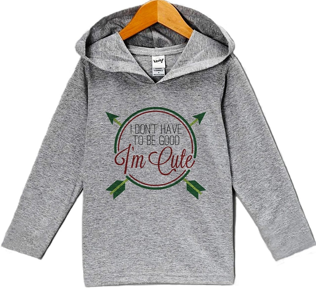 7 ate 9 Apparel Baby's Funny Christmas Hoodie