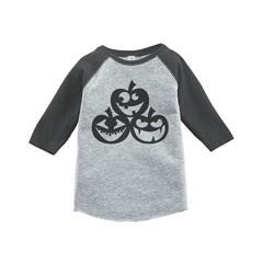 7 ate 9 Apparel Youth Pumpkins Halloween Shirt