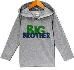 7 ate 9 Apparel Baby Boy's Novelty Big Brother Hoodie Pullover