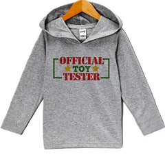 7 ate 9 Apparel Baby's Toy Tester Christmas Hoodie