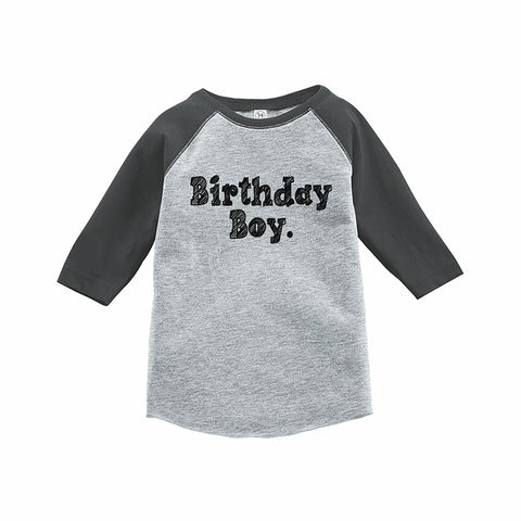 7 ate 9 Apparel Boy's Birthday Boy Onepiece