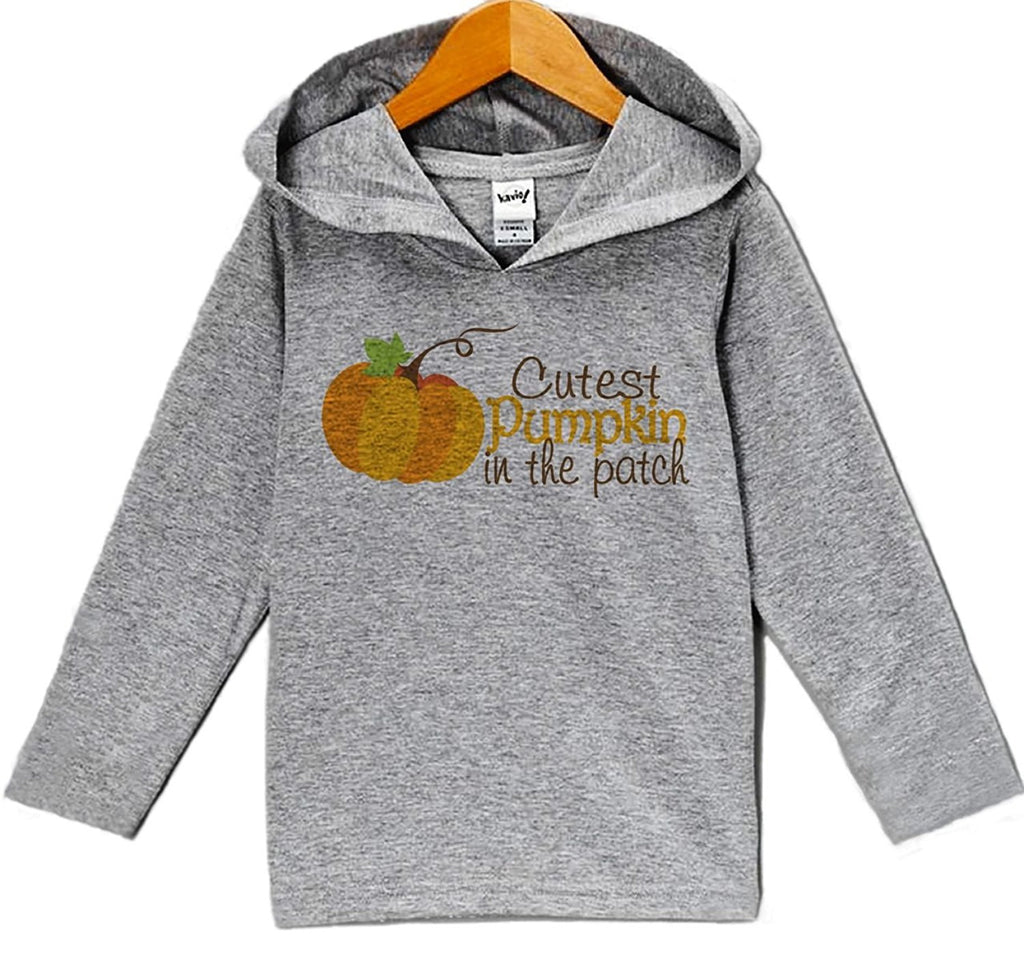7 ate 9 Apparel Baby's Cutest Pumpkin In The Patch Thanksgiving Hoodie