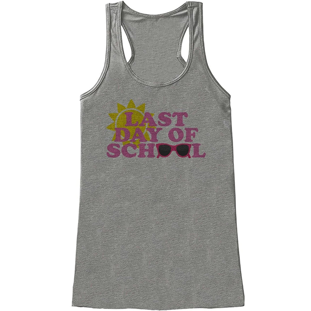 7 ate 9 Apparel Womens Last Day of School Tank Top