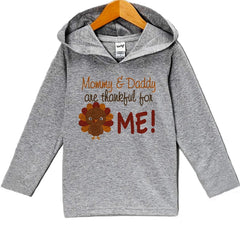 7 ate 9 Apparel Baby Boy's Turkey Thanksgiving Hoodie